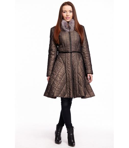 Zimní extravagantní kabát